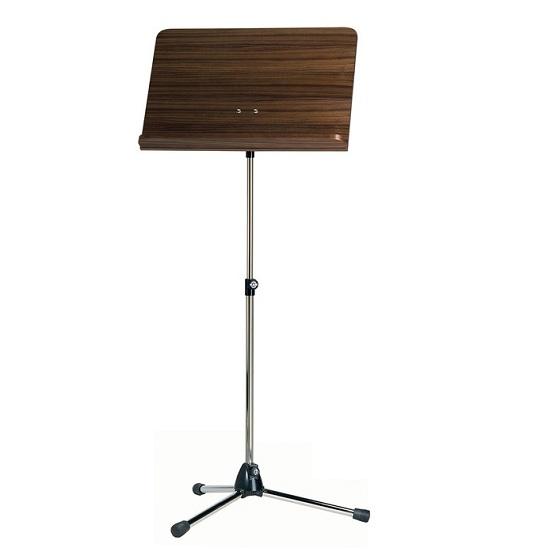 K&M Folding Music Stand - Wooden Desk - Multiple Finishes!