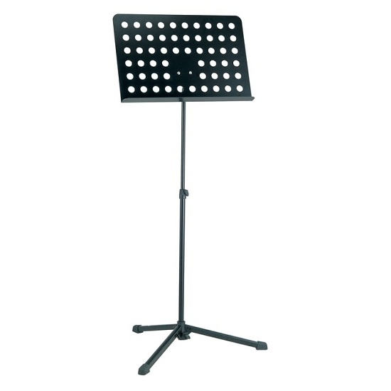 K&M Lighweight Orchestra Stand - Perforated Desk