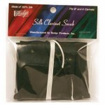 Hodge Alto Clarinet Silk Swab - Multiple Colors