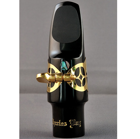"Charles Bay ""Sapphire"" Soprano Saxophone Mouthpiece, Ligature, and Cap"