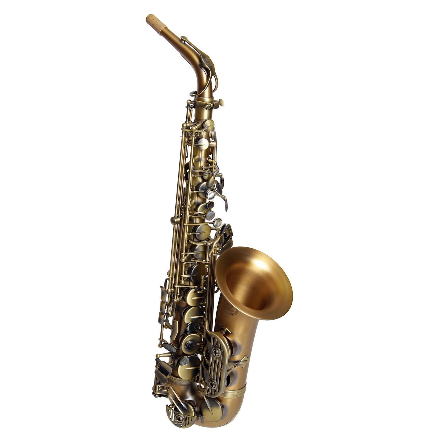 Dakota Alto Saxophone - Antique Brass Finish