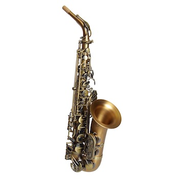 Dakota Alto Saxophone - Antique Brass Finish