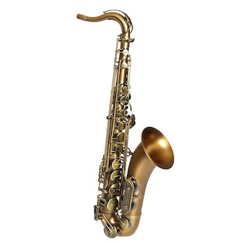Dakota Tenor Saxophone - Antique Brass Finish