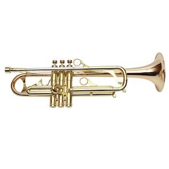 Phaeton Professional Trumpet - Rose Brass Bell