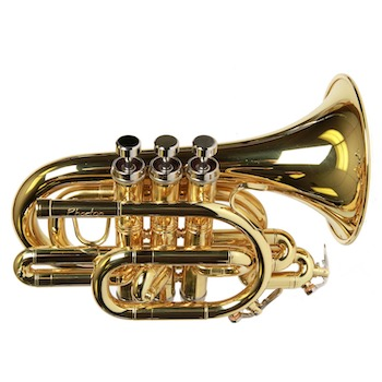 Phaeton Pocket Trumpet - Multiple Finishes Available