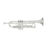 Yamaha Xeno II Professional Bb Trumpet - Reverse Leadpipe/Silver - Newly Redesigned!