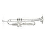 Yamaha Xeno II Professional Bb Trumpet - Large Bore/Silver - Newly Redesigned!