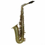 "LA Sax BIG LIP ""X"" Alto Saxophone - Unpolished Brass"