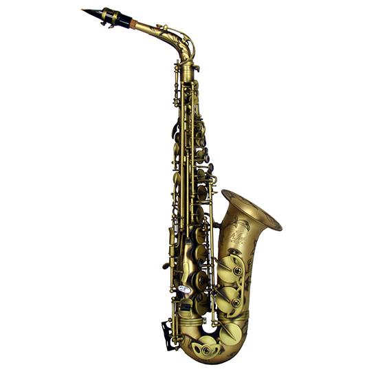 """LA Sax BIG LIP """"X"""" Alto Saxophone - Vintage Matte"""