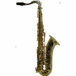 "LA Sax BIG LIP ""X"" Tenor Saxophone - Unpolished Brass"