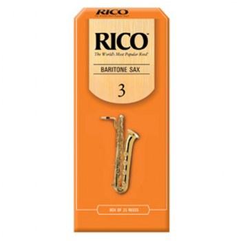 Rico Baritone Saxophone Reeds - Box of 25