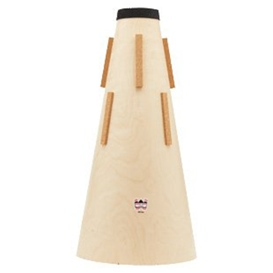 Denis Wick Wooden Straight Mute for Bb Tuba