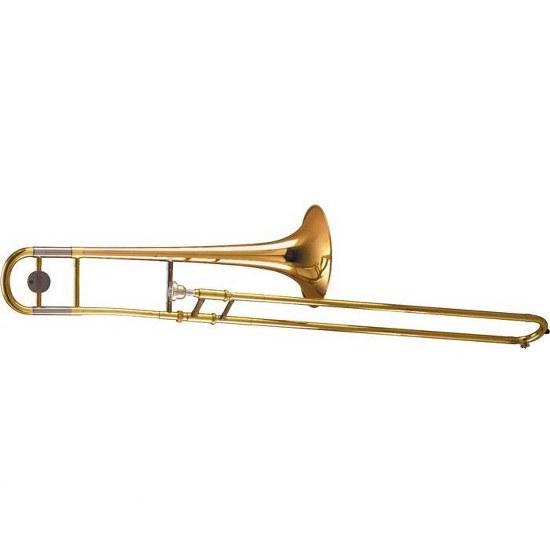 Yamaha Intermediate Trombone - Gold Brass Bell