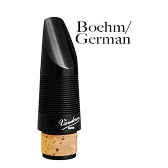 Vandoren Bb German Clarinet Mouthpieces - FREE T-SHIRT OFFER!!