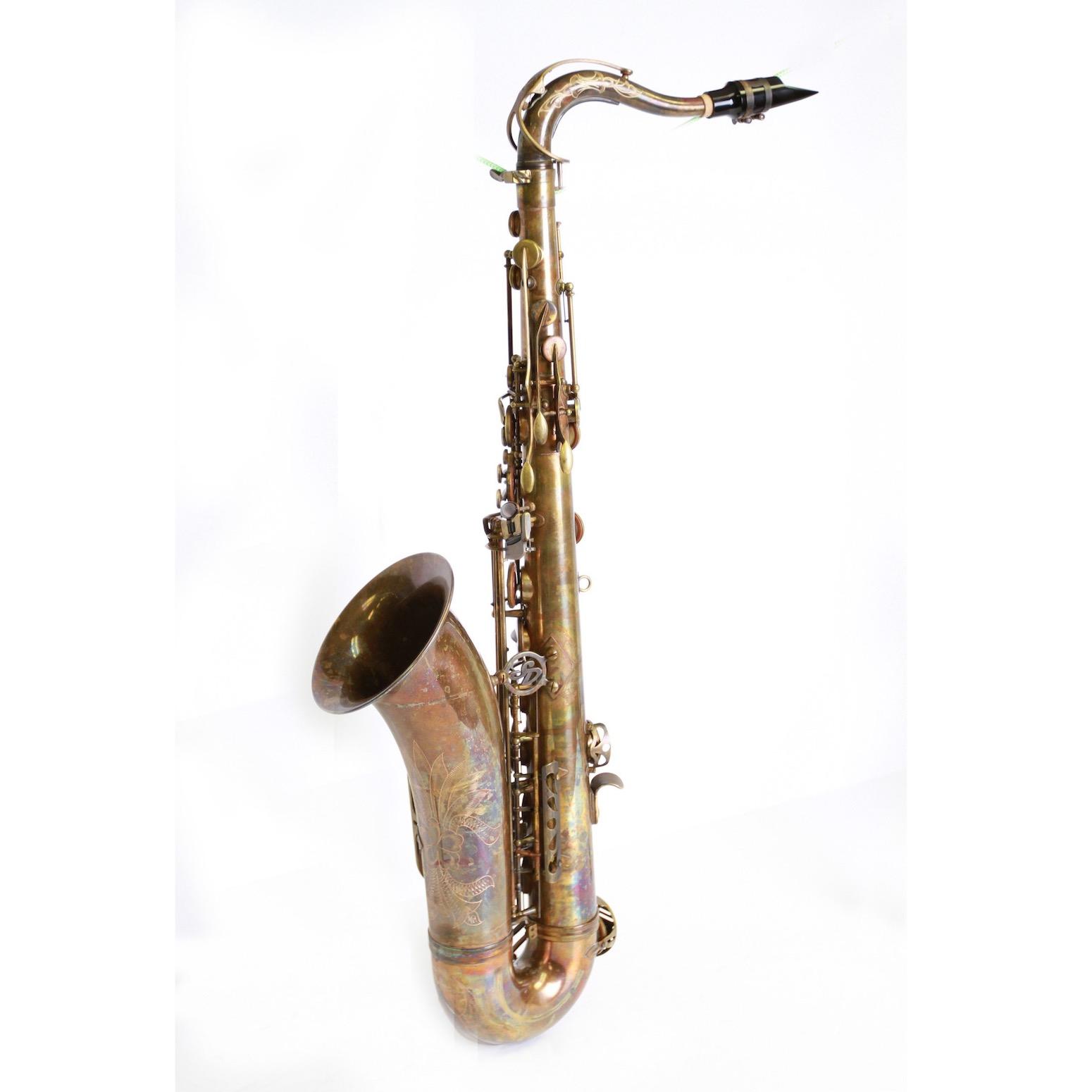 Dakota Bronze Tenor Saxophone - DEMO