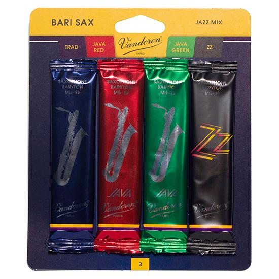 Vandoren Jazz Mix Baritone Saxophone Reeds