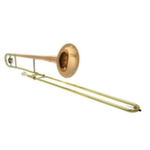John Packer Standard Large Bore Trombone - Rose Brass Bell