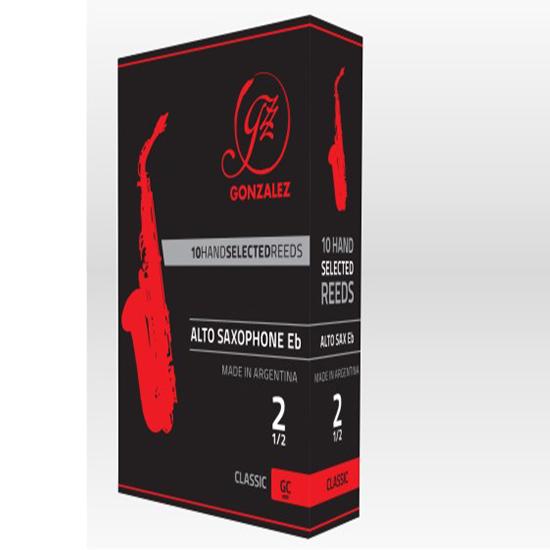 Gonzalez Classic Alto Saxophone Reeds - Box of 10