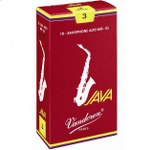 Vandoren Java Red Alto Sax Reeds (10 per box)