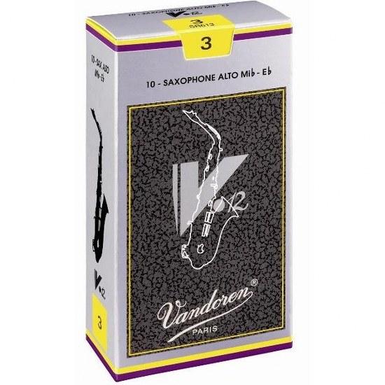 Vandoren V12 Alto Sax Reeds (10 per box)