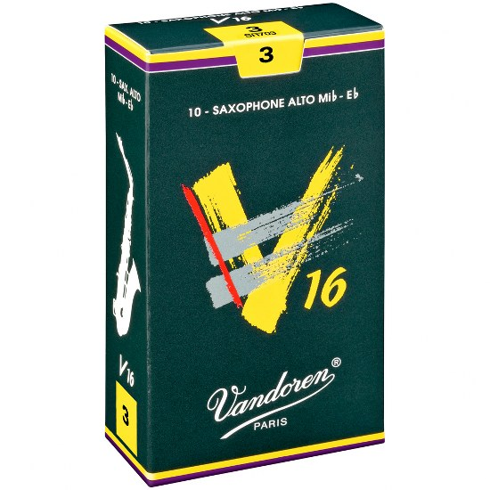 Vandoren V16 Alto Sax Reeds (10 per box)