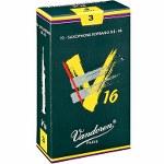 Vandoren V16 Soprano Sax Reeds (10 per box)