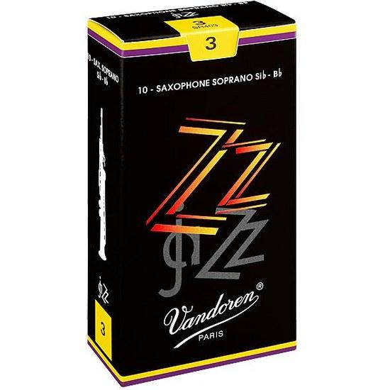 Vandoren ZZ Soprano Sax Reeds (10 per box)