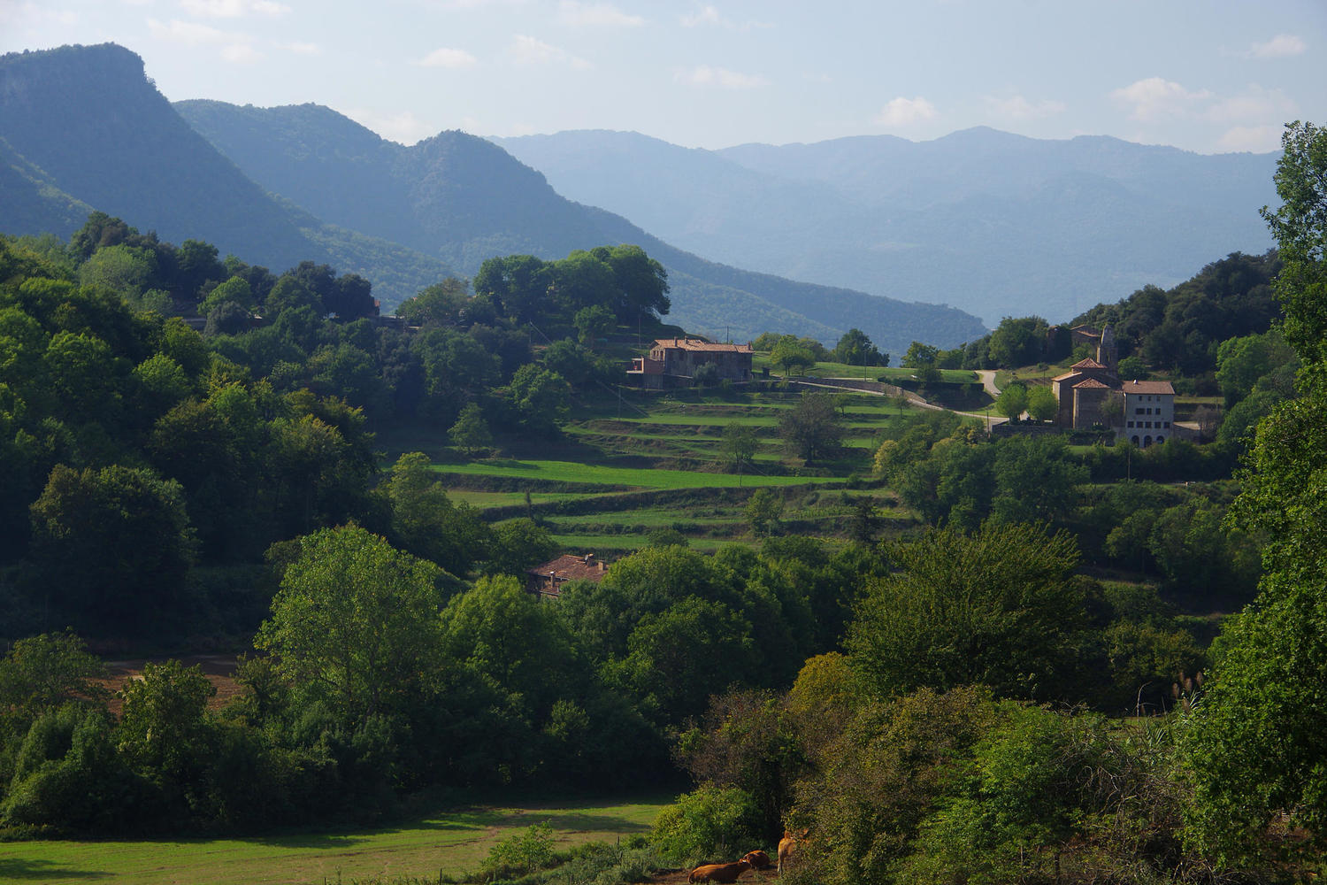 Stunning views in La Garrotxa