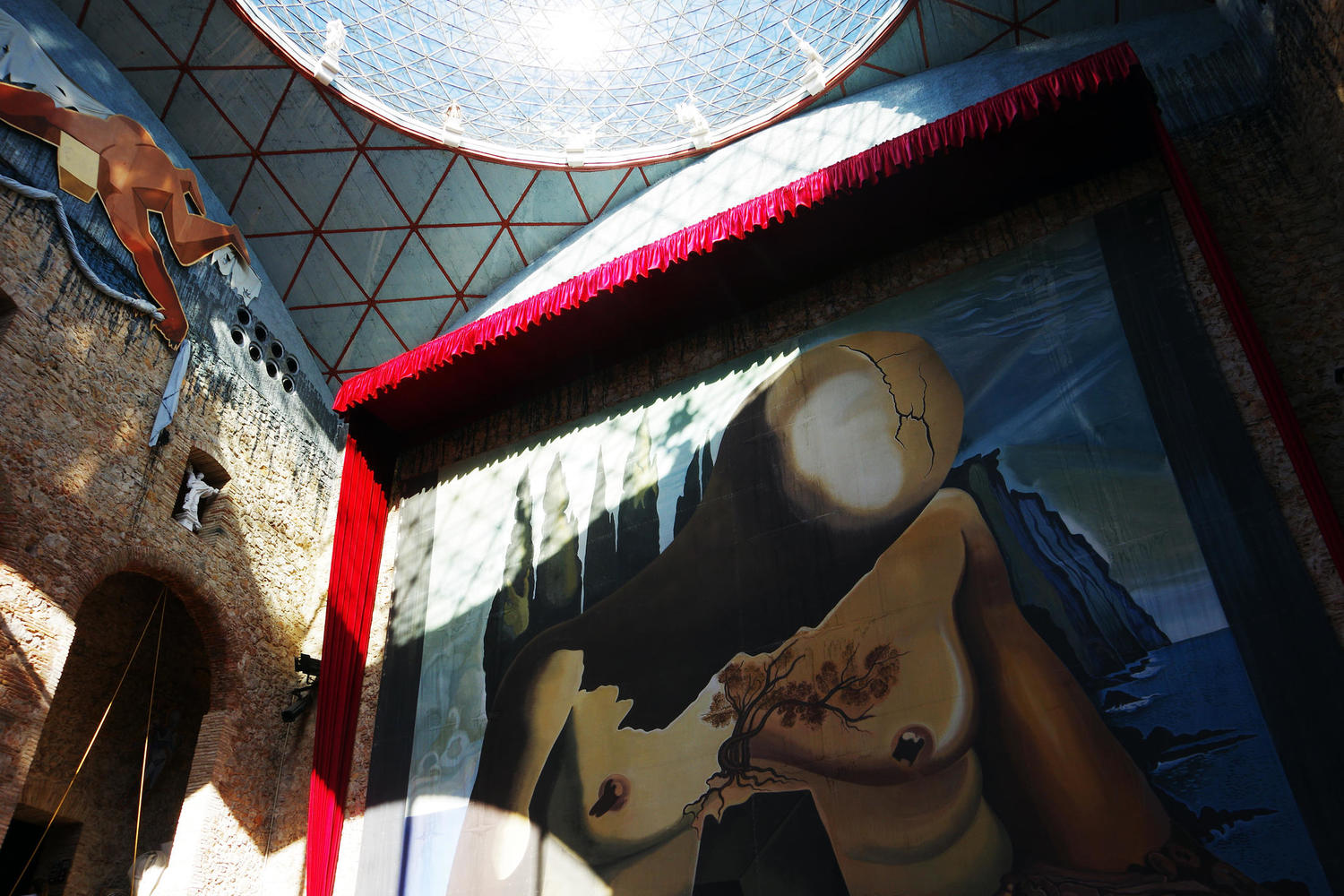 Inside the bonkers Dali museum at Figueres