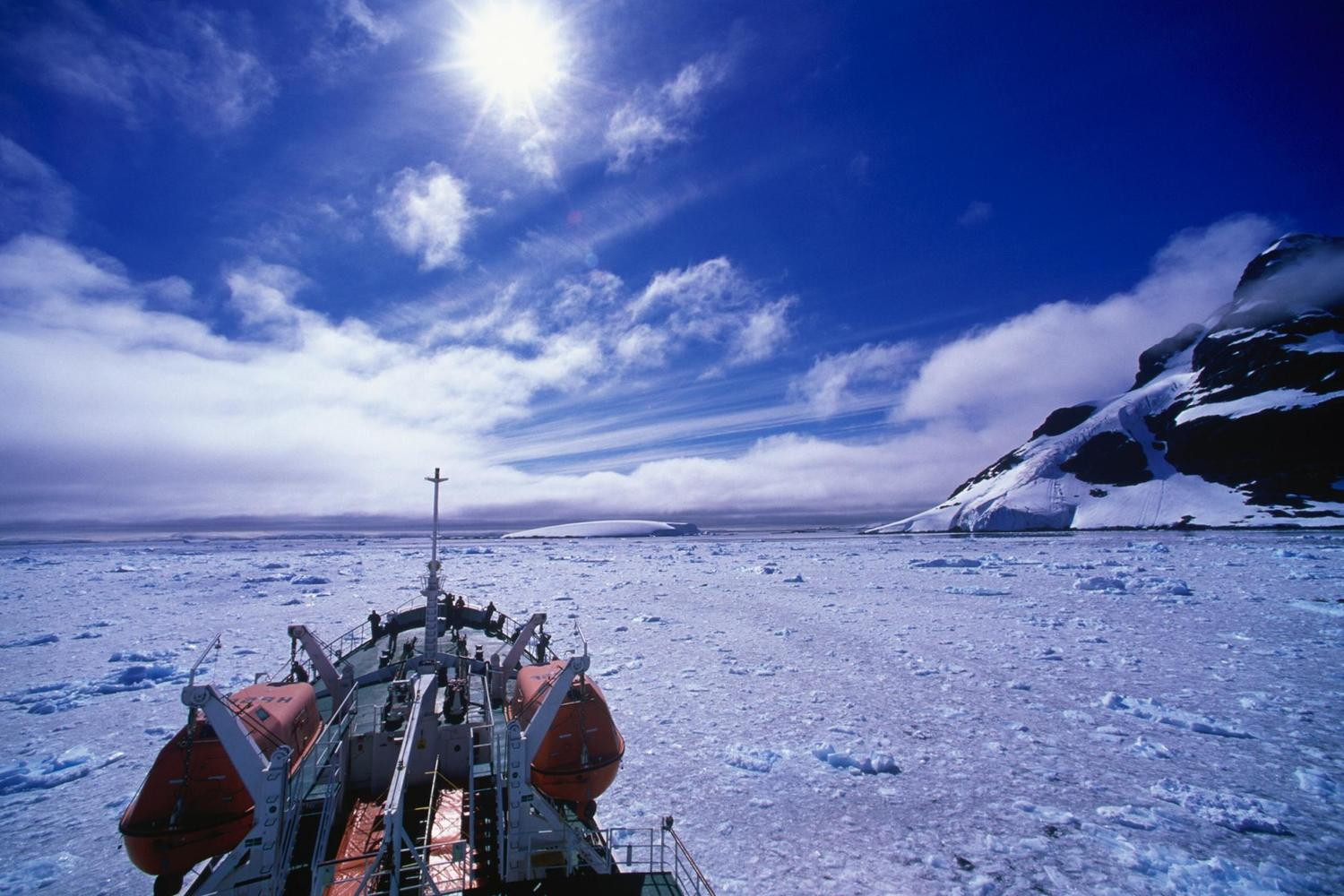 Beautiful landscapes of Antarctica