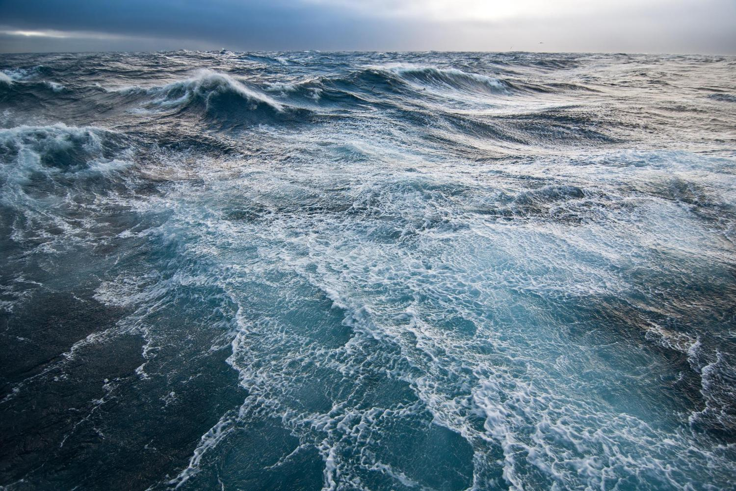 The moody waters of the Drake Passage