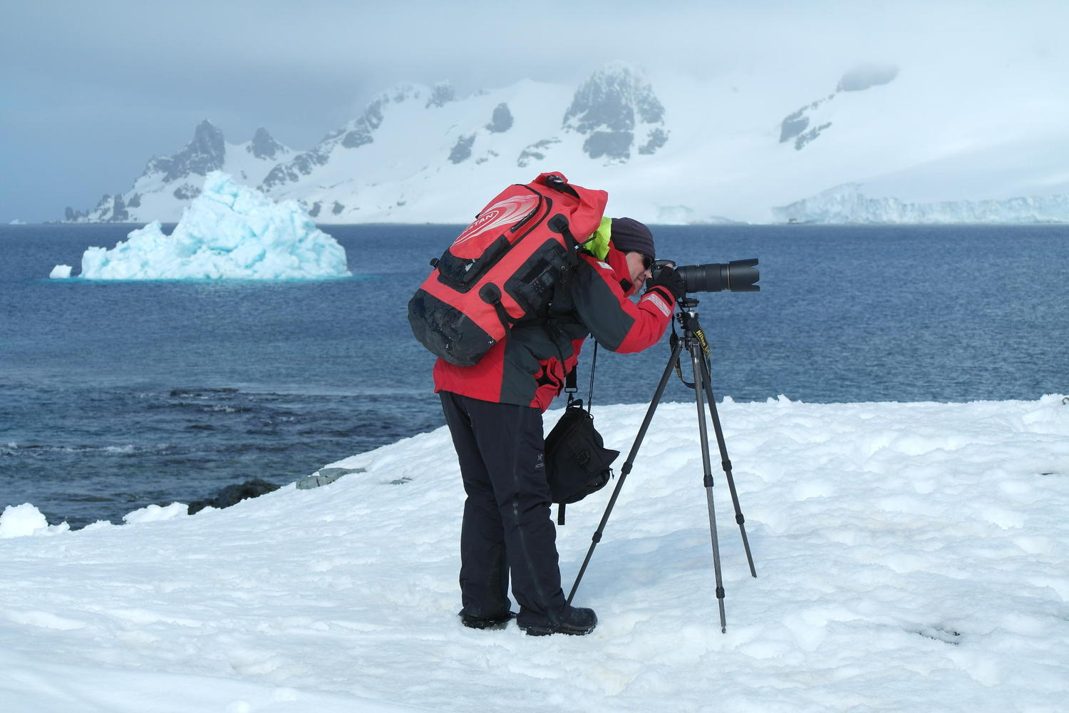 Endless photographic opportunities in Antarctica