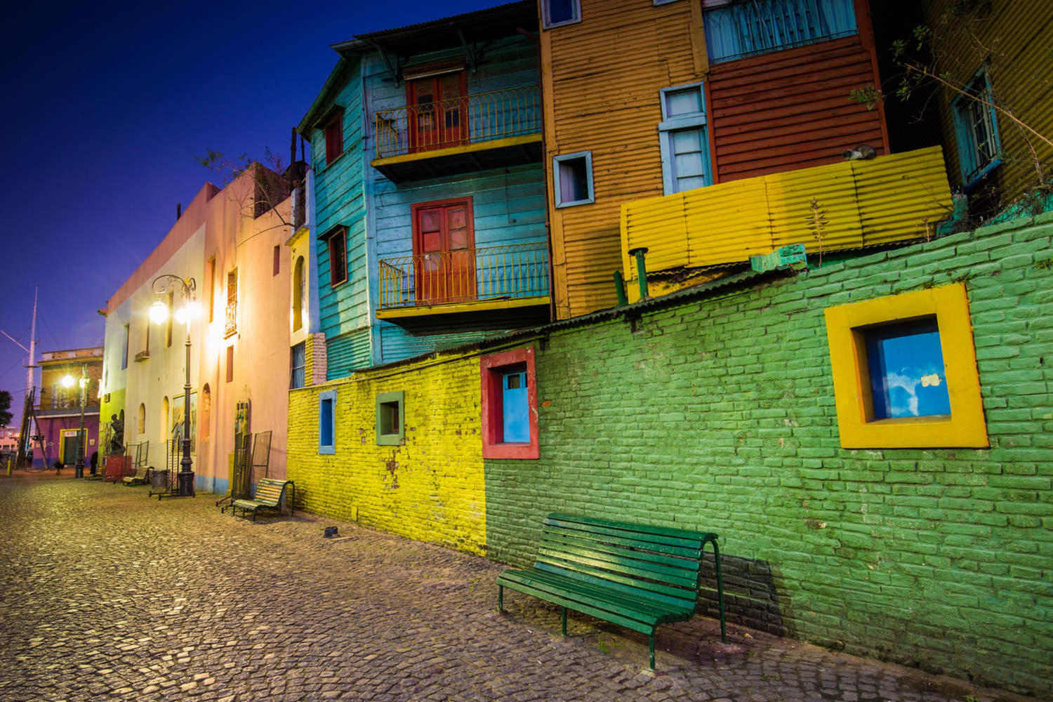 Caminito street in La Boca neighborhood