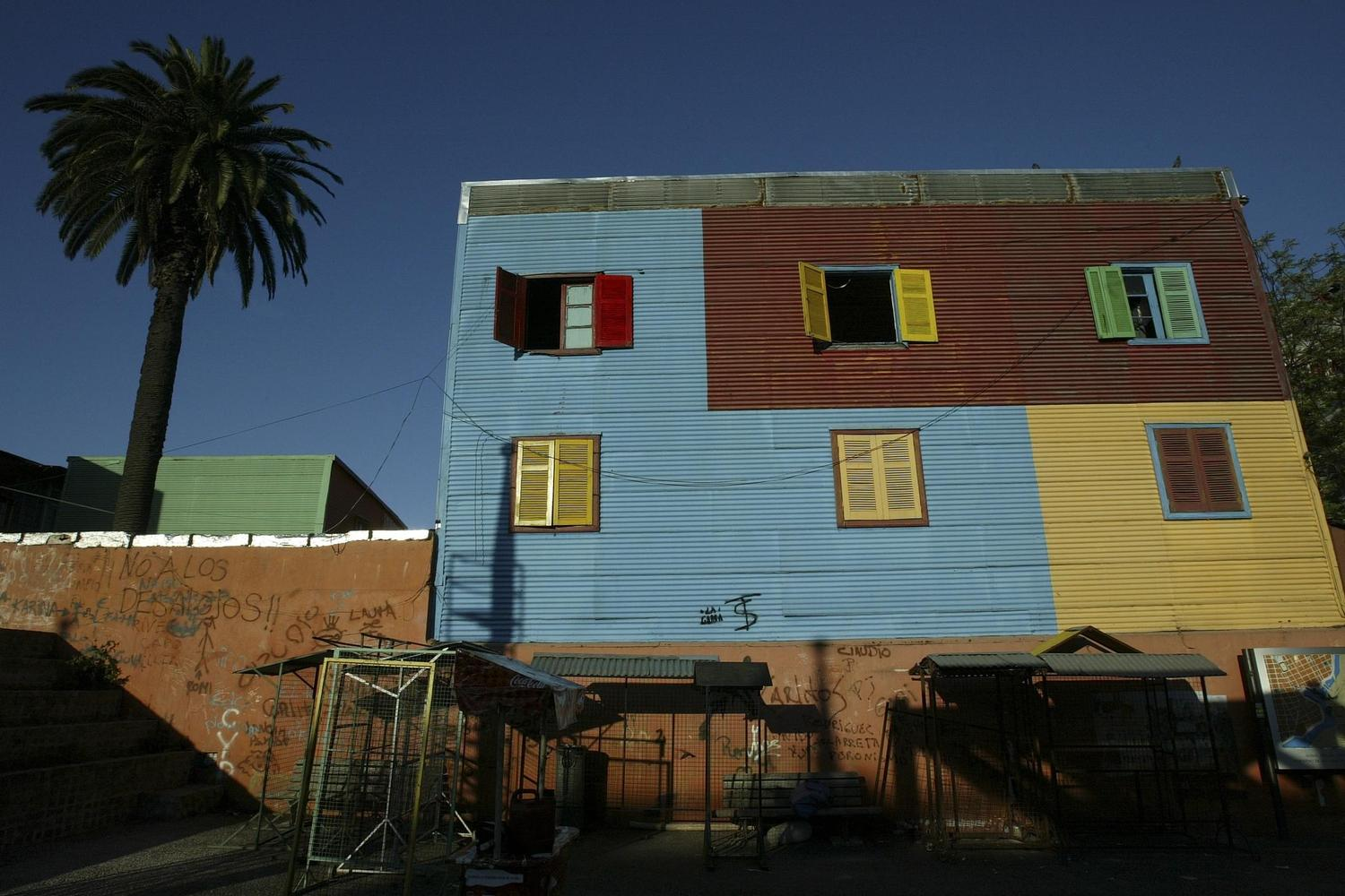 The colourful neighbourhood of La Boca in Buenos Aires