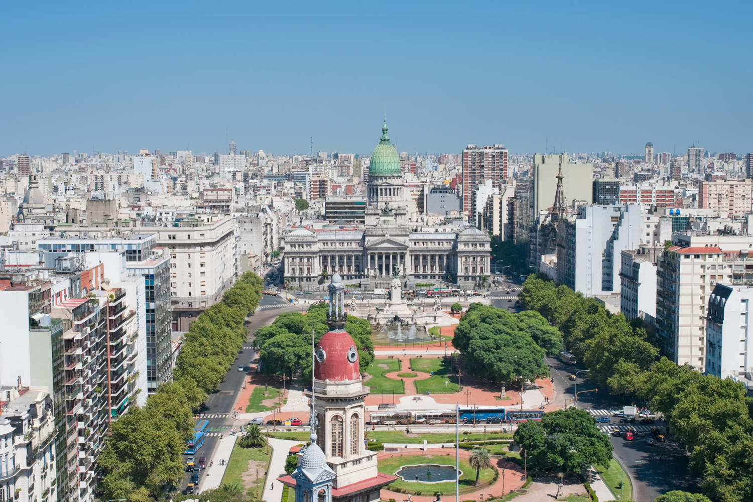 Panorama of Buenos Aires