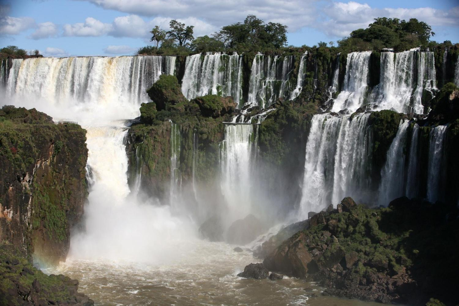 Views of the Argentine side of the Iguassu Falls