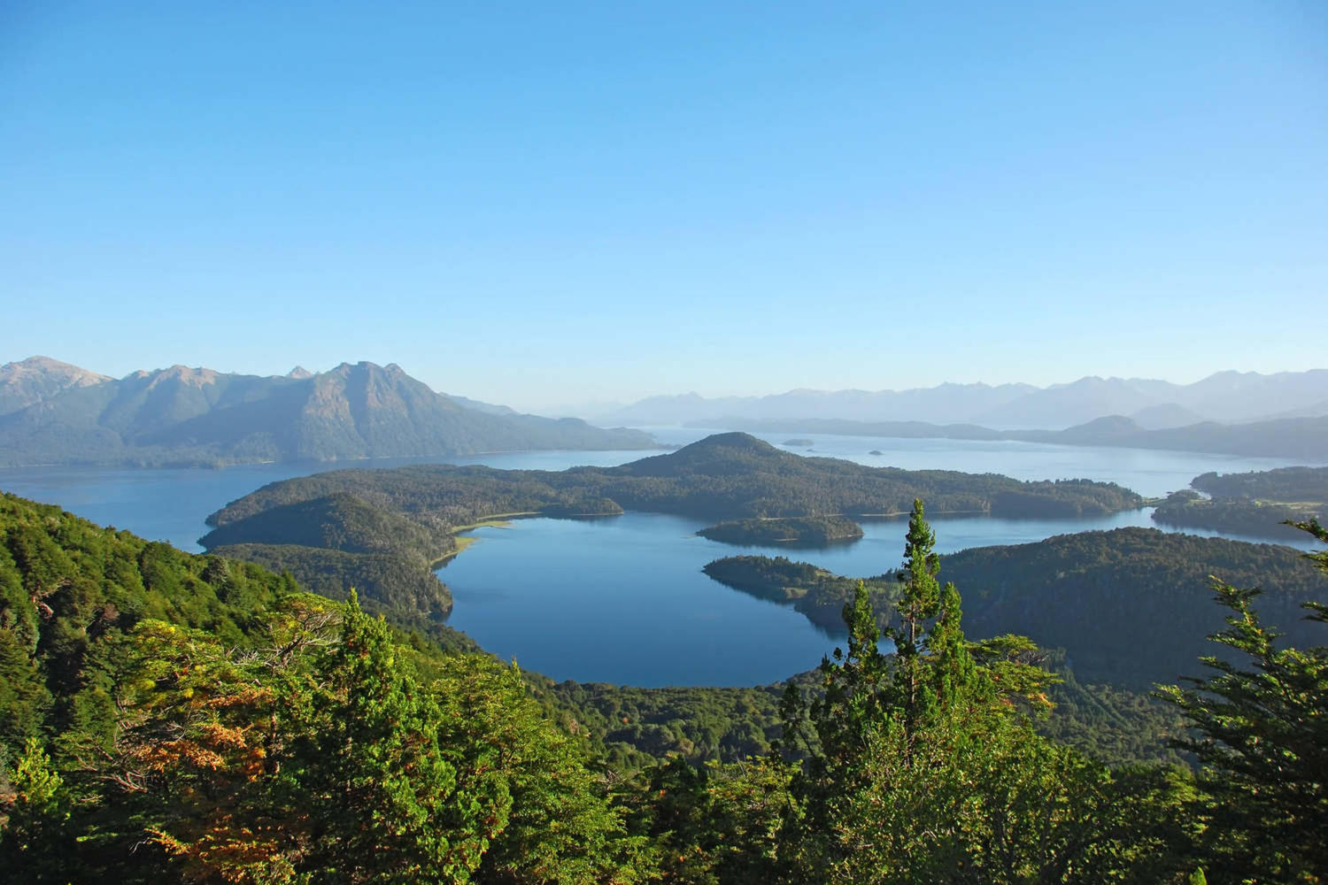 Lovely view of lake in Bariloche