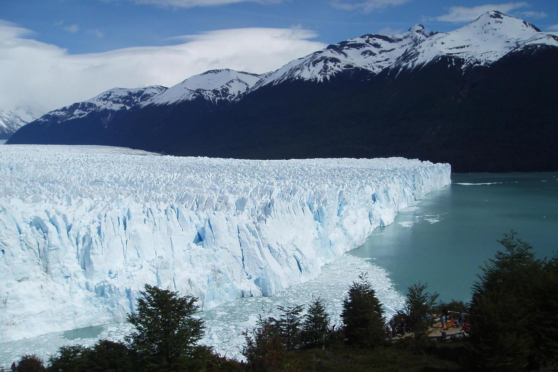 Perito Moreno glacier in El Calafate, Patagonia