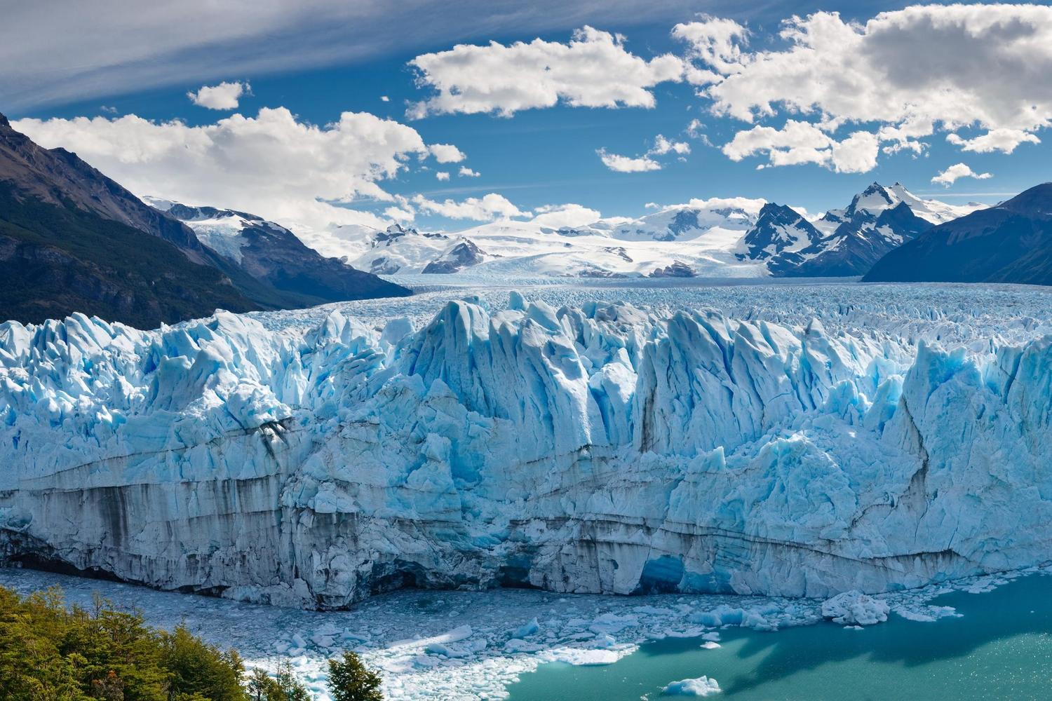 The stunning colours and light of the Perito Moreno Glacier, Argentina
