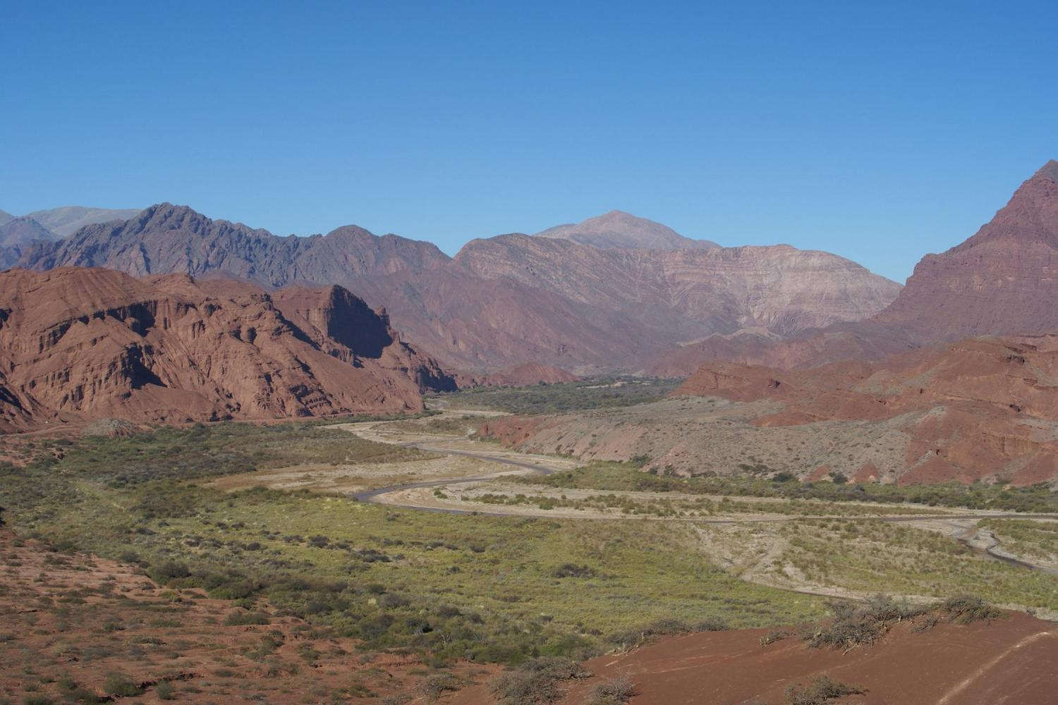 Valley of the Shells near Cafayate
