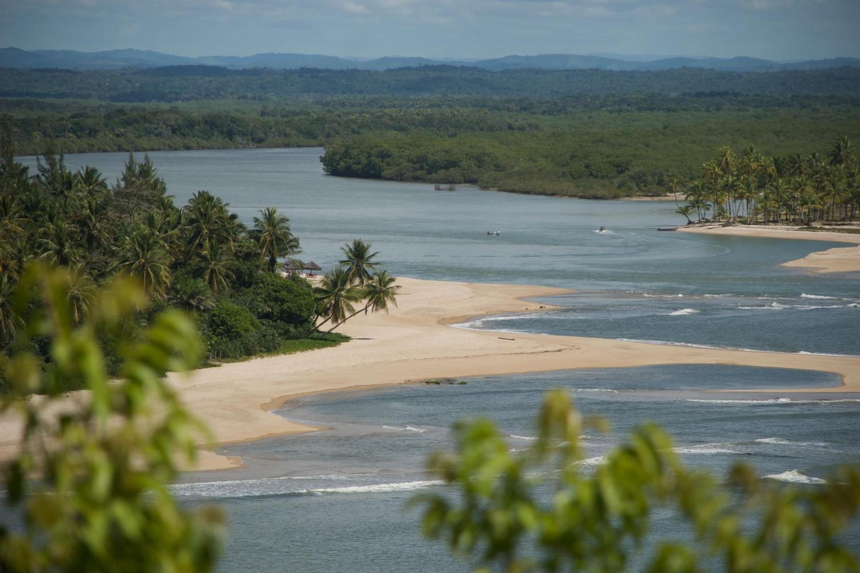 Views from the Pousada Mangabeiras on Boipeba Island