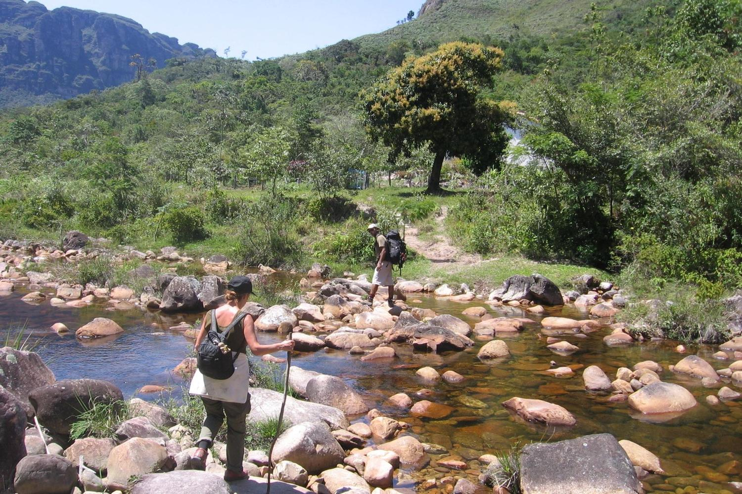 Photos from a riverbed high above the Pati Valley, Brazil