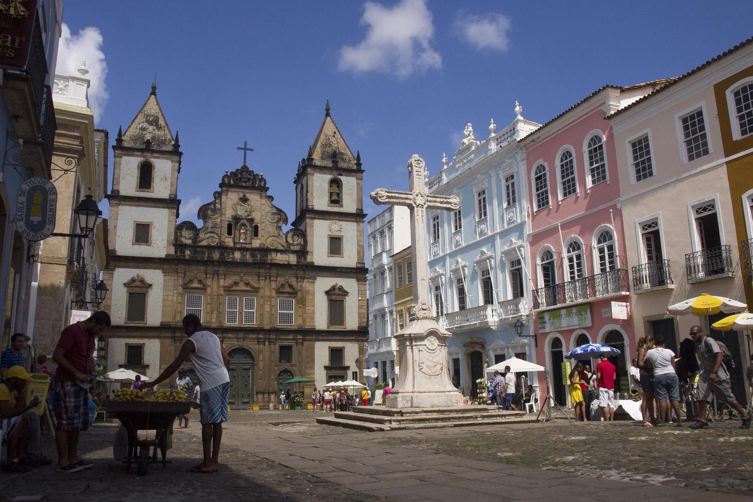 The streets of colonial Salvador