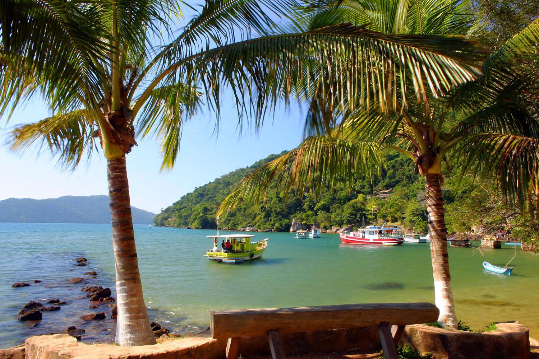 Nice Parati beach, near Rio de Janeiro
