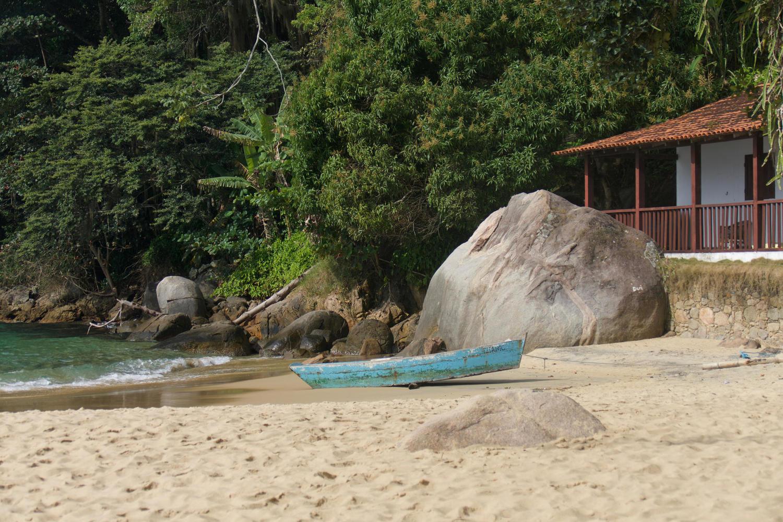 Praia Vermellho near Paraty
