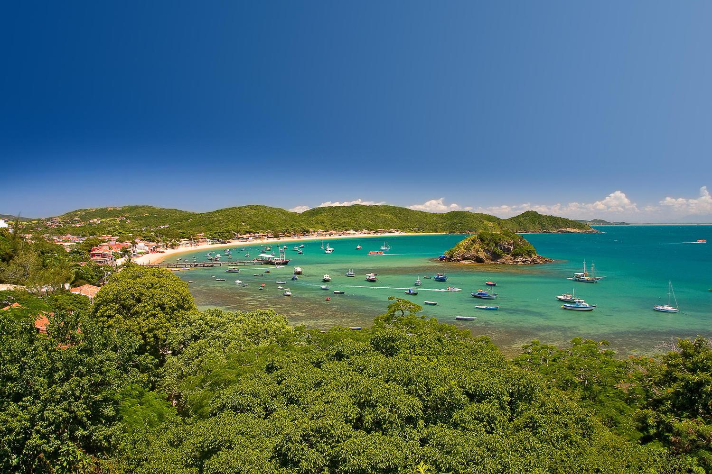 The bay of Buzios, near Rio de Janeiro