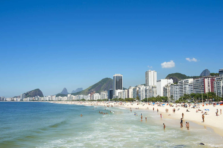 Famous Ipanema in Rio de Janeiro