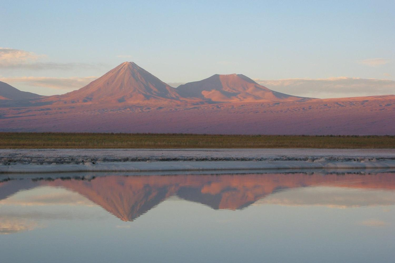 Still sunset over the Atacama Desert