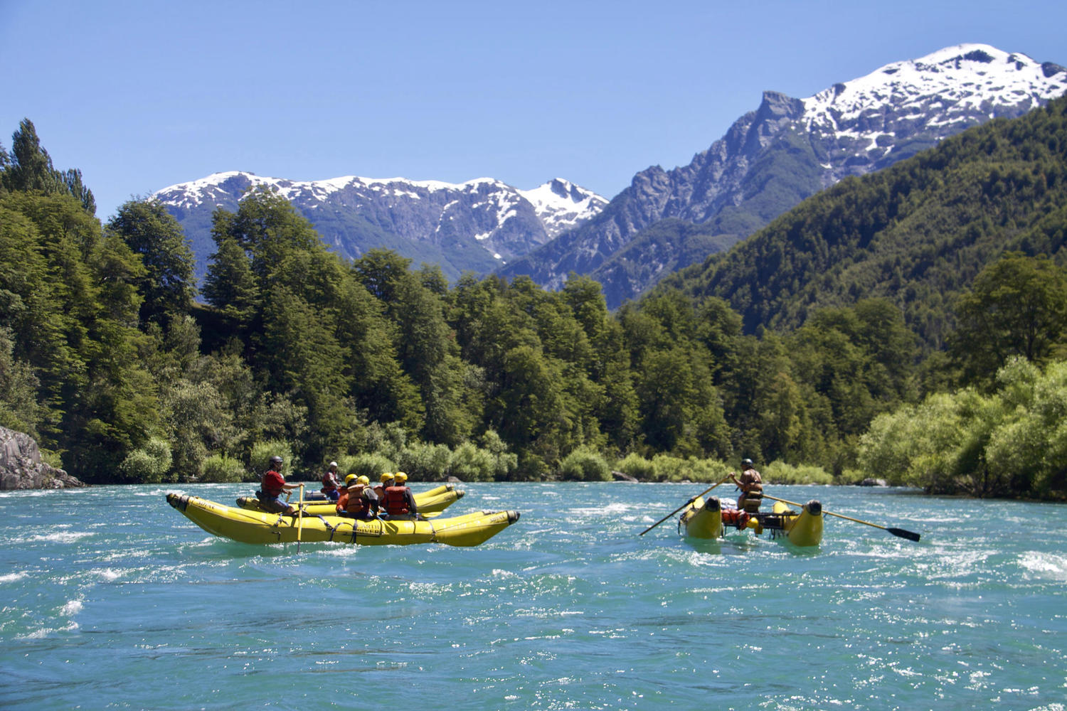 Rafting the Futaleufu River in Chilean Patagonia