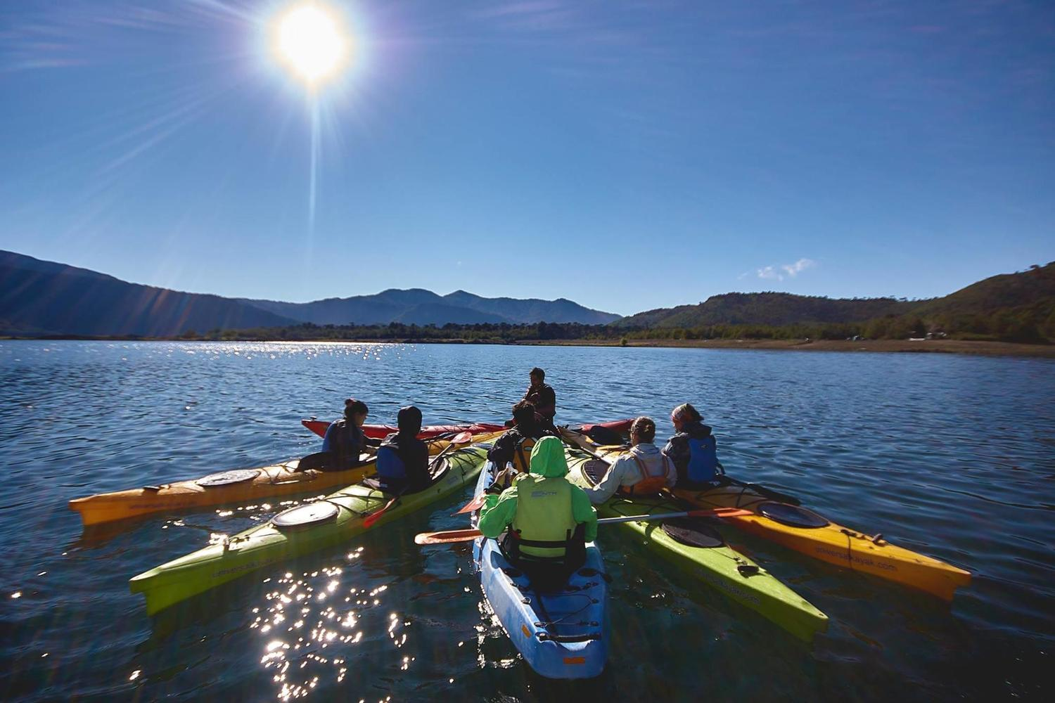 Kayaking in the Conguillio National Park